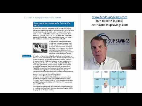 When and How to Sign Up for Medicare - {Getting Started With Medicare}