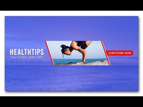 Photoshop Tutorial - Youtube Channel Art