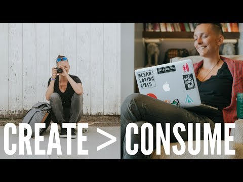 #1 RULE: CREATE OVER CONSUME