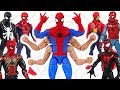 Marvel Avengers Spider Man Six Arm Win The Fight Against Villains DuDuPopTOY