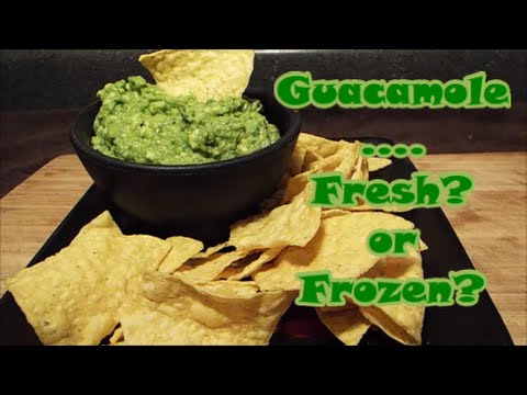 Guacamole Fresh or Frozen