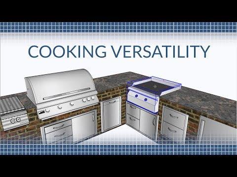 Cooking Versatility in Your Outdoor Kitchen | BBQGuys.com