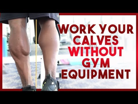 Work Your Calves WITHOUT Gym Equipment!