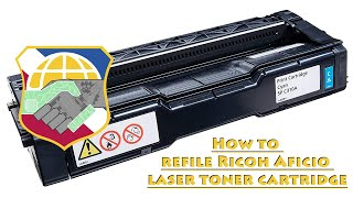 How to Refill Ricoh Printer Cartridge SP 110, 111, 200 210