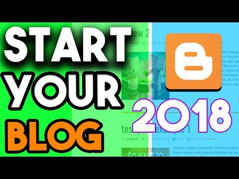 How To Create Blog In 2018 Step By Step Guide For Begginers