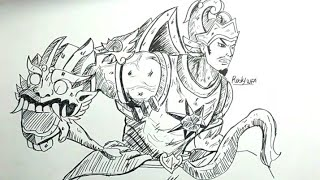 How To Draw Hero Mobile Legends Videos 9videos Tv
