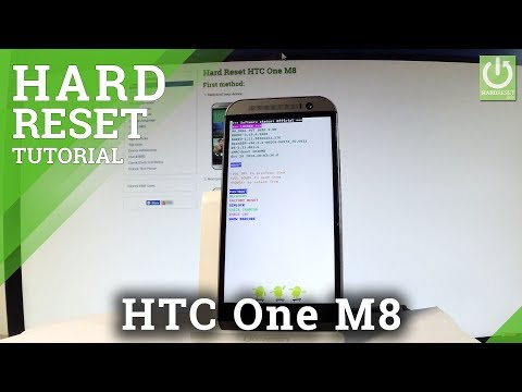 How to Hard Reset HTC One M8 - Bypass Screen Lock / Restore