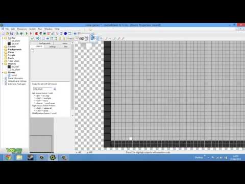 Creating a simple platform game on Game Maker 8.1