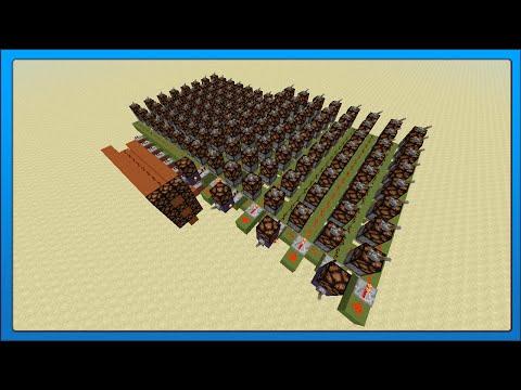 [Minecraft Tech] Redstone PLA Chip (Programed Logic Array)