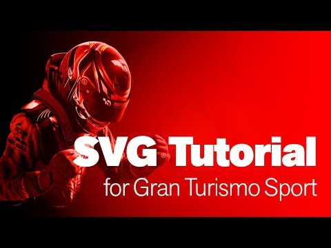 SVG Tutorial for Gran Turismo SPORT Decals