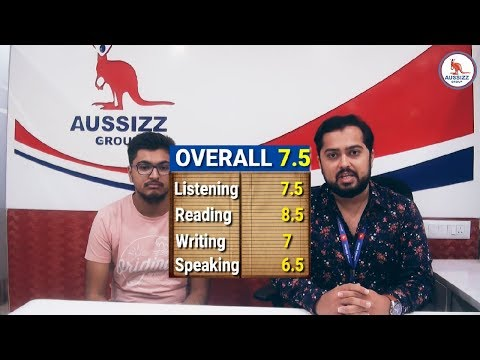 7.5 Band in IELTS- Adi shares his experience with Aussizz Group
