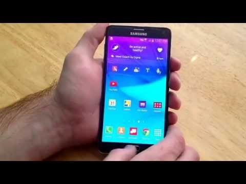 Samsung Galaxy Note 4 - How to screenshot