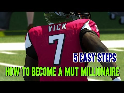 Madden 15 Ultimate Team 5 Easy Steps To Become A MUT Millionaire!!
