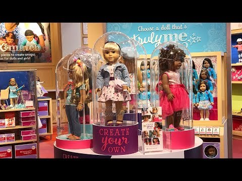 American Girl in Store Report Create Your Own Doll