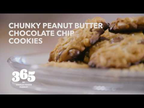 Chunky Peanut Butter Chocolate Chip Cookies | Recipes | 365 by Whole Foods Market