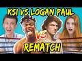 Teens React To Logan Paul Vs KSI Rematch