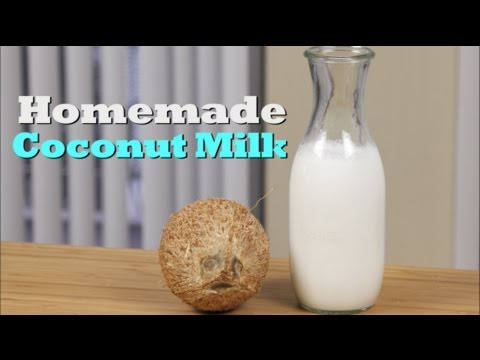 How To Make Homemade Coconut Milk | Drinks Made Easy