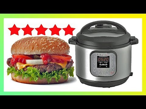 How To Cook Burgers In An Electric Pressure Cooker ~ Instant Pot Hamburgers
