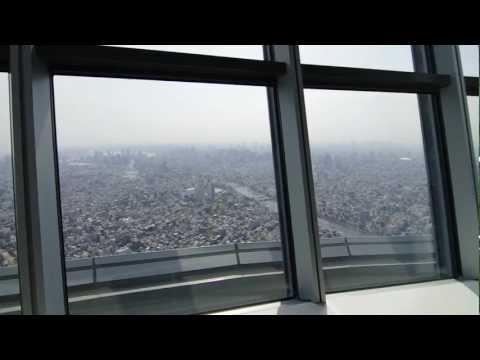 東京スカイツリー Tokyo Skytree - Inside tour on media day - FULL-HD