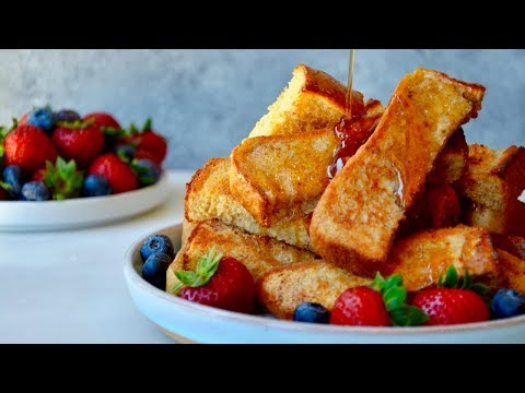 Baked French Toast Sticks