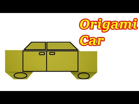 How to make a paper Car for kids | Origami Car | Origami Tutorial | Learn Origami