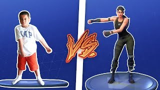 1 KILL = 1 FORTNITE DANCE FOR 9 YEAR OLD KID! FORTNITE DANCE CHALLENGE IN REAL LIFE! *MUST WATCH*