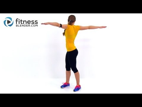 Total Body Toning Low Impact Cardio Workout - 30 Minute At Home Cardio Workout