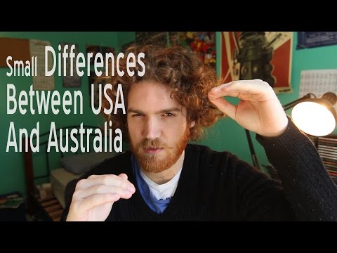 Small Differences Between USA and Australia
