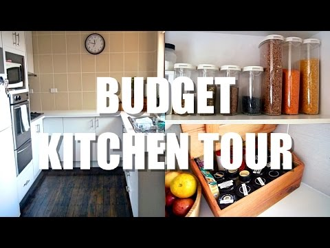 Budget Kitchen Tour & Organisation | What can we purge?
