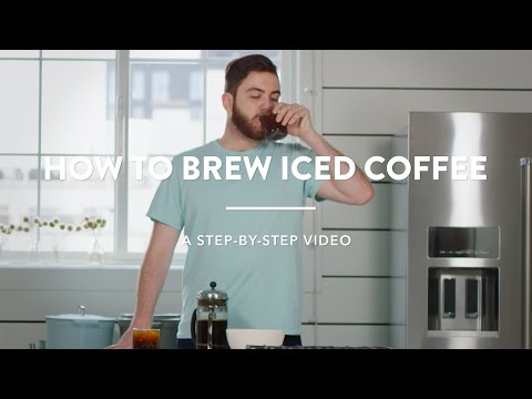 How to Brew Iced Coffee with a Coffee Press