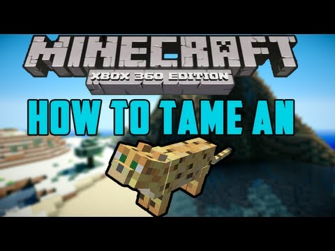 How To Tame An Ocelot - Minecraft Xbox