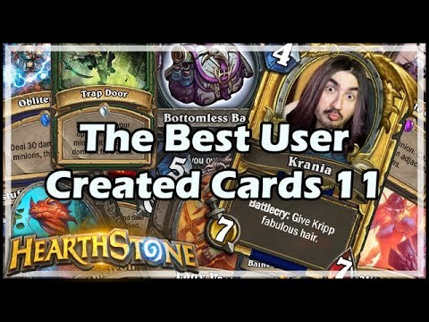 [Hearthstone] The Best User Created Cards 11