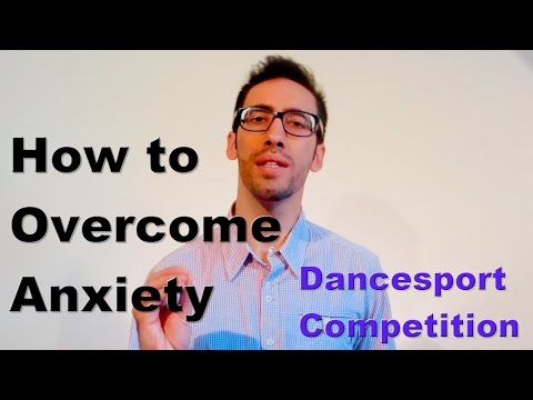 How to Overcome Anxiety on a Dancesport Competition - Joao Capela Mental Coaching Dancesport