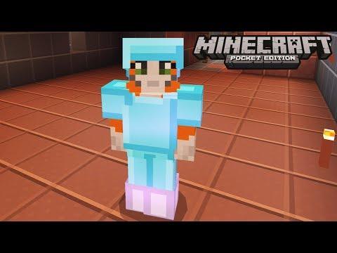 Minecraft: Pocket Edition - Gold Mine  - No Home Challenge