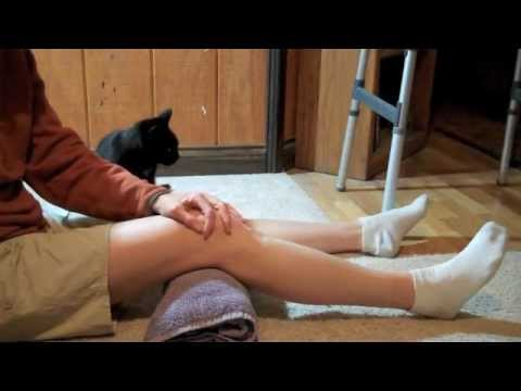 How to Make a Sturdy Knee Exercise Roll