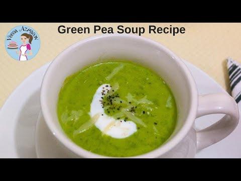 Sweet Pea Soup Recipe - How to make Creamy Homemade Sweet Pea Soup - Fresh Peas Soup