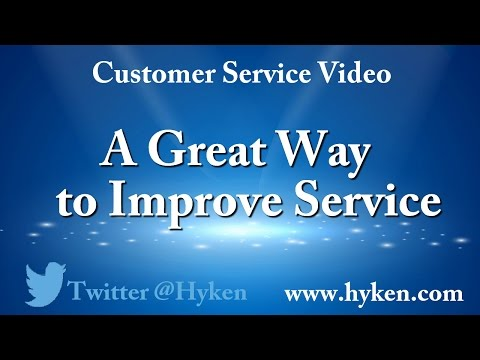 Customer Service Tip: A Great Way to Improve Service