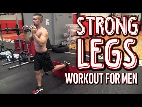 Strong Legs Workouts for Men (No More SKINNY Legs!)