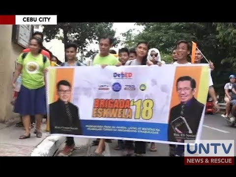MCGI, tumulong sa Brigada Eskwela sa mga paaralan sa buong Metro Manila