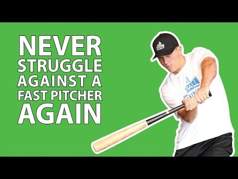 HOW TO HIT A FAST PITCHER IN BASEBALL! - Baseball Hitting Tips
