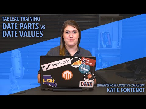 Tableau Training Tips: Date Parts vs. Date Values