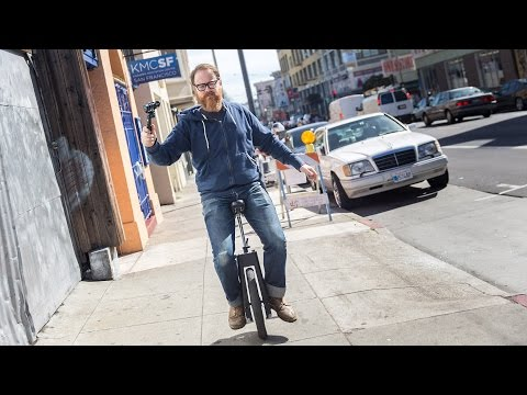 Tested: Self-Balancing Electric Unicycle