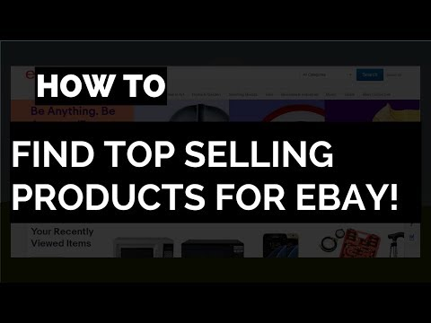 How to Find High Profit Products to Sell on eBay FREE 👏