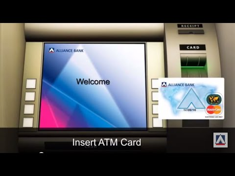 Transferring funds via Interbank Fund Transfer (IBFT) using an ATM
