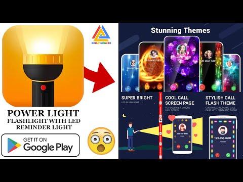 Mobile Flash Light | Calls & SMS Do  Calling | Call Light  Power Light | Best Flashlight