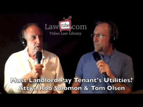 Can I stop paying my tenant's utilities?