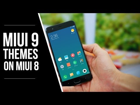 How To Get Official MIUI 9 Themes on any Xiaomi Phone with MiUI 8