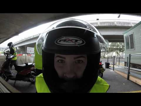 motorcycle p plate test sydney
