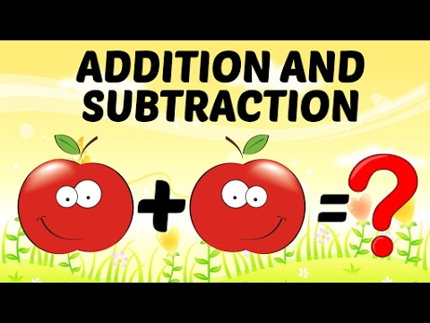 Basic Math For Kids: Addition and Subtraction For Kids | Preschool Learning For Kids