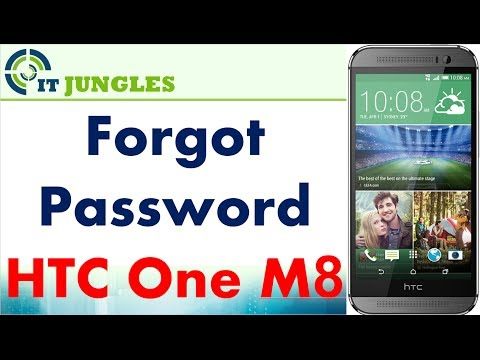 HTC One M8: Remove Forgot PIN / Password from Lock Screen